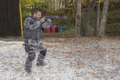 Pelotón antiterrorista especial Foto de archivo