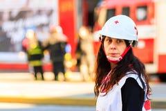 Pelotón de la emergencia Fotos de archivo libres de regalías