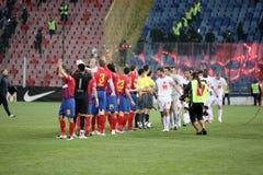 Pelotón de Steaua Imagenes de archivo