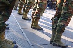 Pelotón del ejército fotografía de archivo libre de regalías