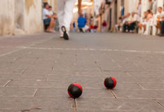 Pelota competition Stock Photography