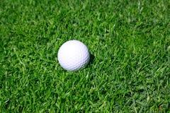Pelota de golf Fotografía de archivo