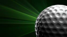 Pelota de golf stock de ilustración
