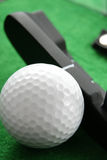 Pelota de golf Fotografía de archivo libre de regalías
