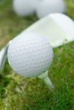 Pelota de golf foto de archivo