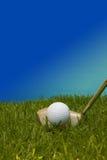 Pelota de golf. Fotos de archivo