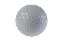Pelota de golf aislada en el fondo blanco Imagen de archivo libre de regalías