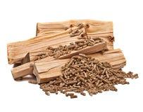 Pelota de madeira Imagem de Stock Royalty Free