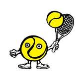 pelota de tenis Foto de archivo