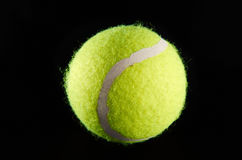 Pelota de tenis Foto de archivo libre de regalías