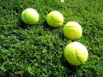 Pelota de tenis 5 Foto de archivo libre de regalías