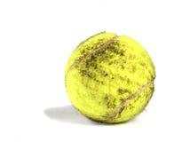 Pelota de tenis sucia Fotografía de archivo