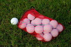 Pelotas de golf Fotografía de archivo