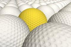 Pelotas de golf Imágenes de archivo libres de regalías