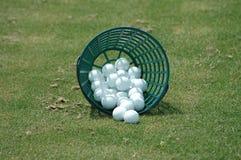 Pelotas de golf Imagen de archivo libre de regalías