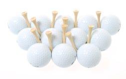 Pelotas de golf Foto de archivo libre de regalías