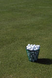 Pelotas de golf de la práctica Imagen de archivo libre de regalías
