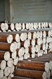 Pelotas de madeira Imagem de Stock Royalty Free