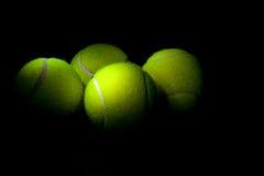 Pelotas de tenis Foto de archivo libre de regalías