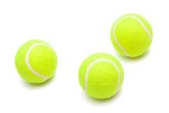 Pelotas de tenis Fotografía de archivo libre de regalías