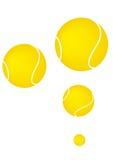Pelotas de tenis stock de ilustración