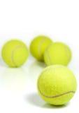 Pelotas de tenis Imágenes de archivo libres de regalías
