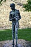 Pelotaskulptur barcelona catalonia spain Fotografering för Bildbyråer