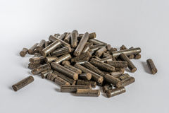 Pelotillas de madera torrefactas Fotografía de archivo libre de regalías