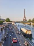 Peloton в Париже Стоковые Изображения RF