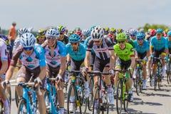 Peloton - Тур-де-Франс 2017 Стоковые Фотографии RF