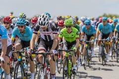 Peloton - Тур-де-Франс 2017 Стоковое фото RF
