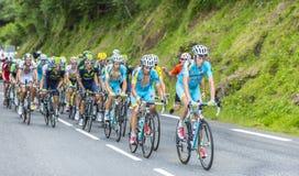 Peloton - Тур-де-Франс 2014 Стоковые Изображения