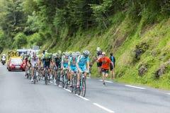 Peloton - Тур-де-Франс 2014 Стоковые Изображения RF