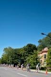 Ο αγώνας Peloton Στοκ φωτογραφίες με δικαίωμα ελεύθερης χρήσης