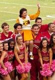 Peloton Cheerleading de FSU Image libre de droits
