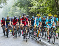 The Peloton Royalty Free Stock Photos