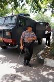 Peloton de bom de police Photographie stock