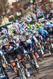 The Peloton- Paris Nice 2013 in Nemours Royalty Free Stock Images