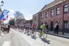The Peloton - Paris Roubaix 2016 Royalty Free Stock Photography