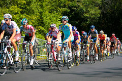 The Peloton racing stock image