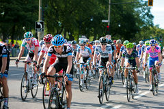 The Peloton racing Stock Images