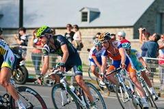 The Peloton racing Stock Photos