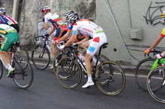Peloton during Rio2016 Olympics road race Stock Images