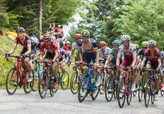 Peloton - tour de france 2017 Fotografia Stock