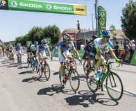 The Peloton - Tour de France 2015 Royalty Free Stock Images