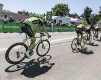 The Peloton - Tour de France 2015 Royalty Free Stock Photo
