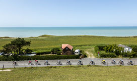 The Peloton - Tour de France 2015 Royalty Free Stock Image