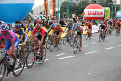 Peloton, Tour de Pologne Royalty Free Stock Image