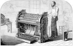 Peloubet & Pelton Reed Organ Stock Image