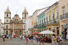 Pelourinho萨尔瓦多巴伊亚 免版税库存照片